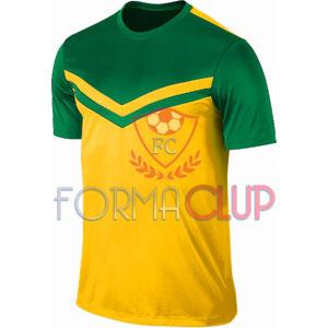 Z Victory II Yeşil/Sarı Kısa Kol Halı Saha Forma ve Şort(TAKIM)