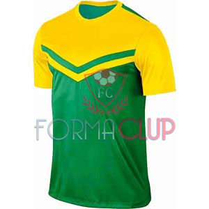 Z Victory II Sarı/Yeşil Kısa Kol Halı Saha Forma ve Şort(TAKIM)