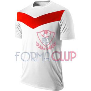 Y 2017 Victory GD Gold Beyaz/Kırmızı Kısa Kol Halı Saha Forma ve Şort(TAKIM)