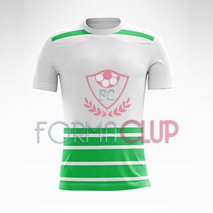2018 Münih Yeşil/Beyaz Halı Saha Forması + Şort