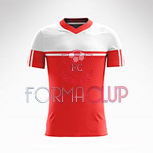 R Asist Şortlu Halı Saha Forma Takımı Kırmızı/Beyaz